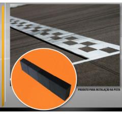 Fita magnética (imã) para instalação na pista
