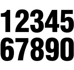 Números de identificação de kart