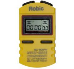 Cronômetro Robic SC-505W / 12 voltas Amarelo