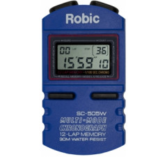 Cronômetro Robic SC-505W / 12 voltas Azul