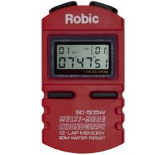 Cronômetro Robic SC-505W / 12 voltas Vermelho