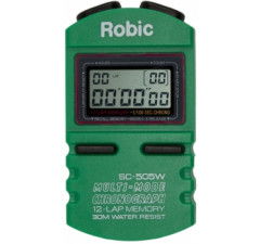 Cronômetro Robic SC-505W / 12 voltas Verde
