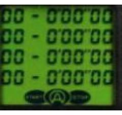 Tela de LCD Cronometro Alfano Kronos V2